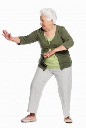 Ältere Dame einzel