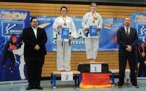 Jasmin Platz 1 und Katharina Platz 2