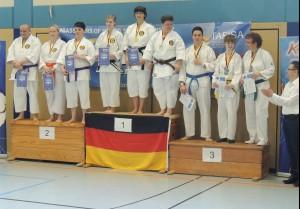 Team Eberswalde Platz 1 und Team Berlin Platz 2