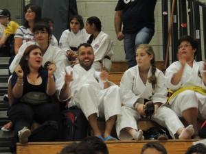 Die ISAMU Karatekas waren in guter Stimmung
