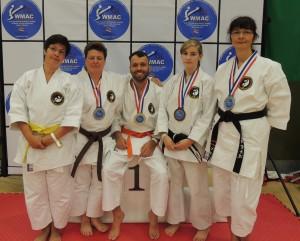 Das stolze ISAMU Karate Team